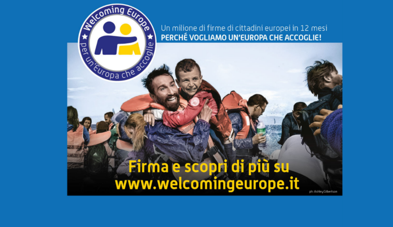 Welcoming Europe, per un'Europa che accoglie